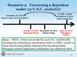 scenario 2 traversing a rejection under 35 u s c 102 a 23