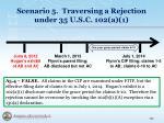 scenario 5 traversing a rejection under 35 u s c 102 a 16