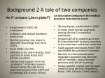 background 2 a tale of two companies