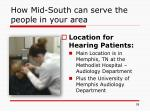how mid south can serve the people in your area1