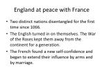 england at peace with france