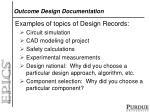 outcome design documentation1
