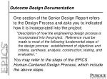 outcome design documentation2
