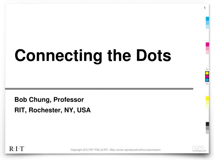 connecting the dots n.