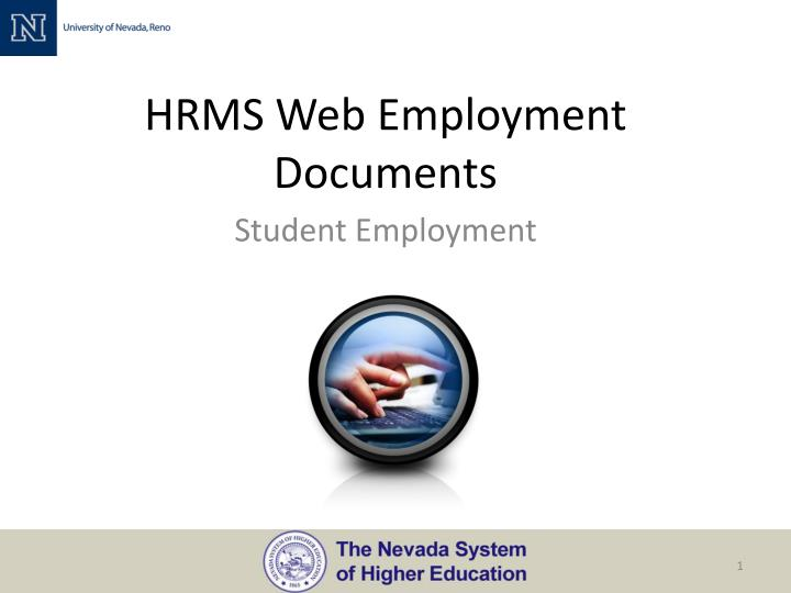 hrms web employment documents n.