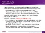 network security san datamover dmv