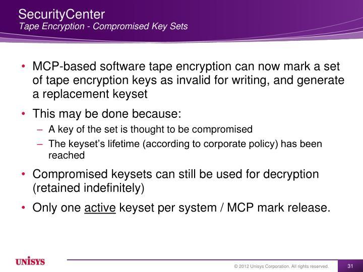 SecurityCenter