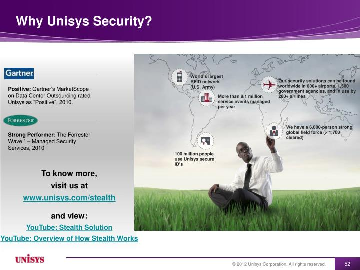 Why Unisys Security?