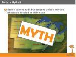 truth or myth 3
