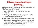 thinking beyond workforce planning