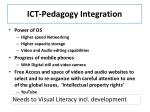 ict pedagogy integration