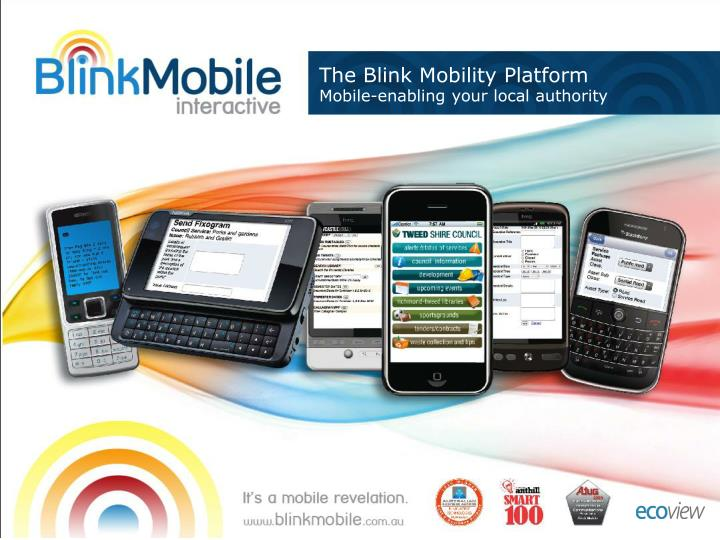 the blink mobility platform mobile enabling your local authority n.