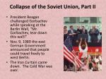 collapse of the soviet union part ii