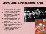 jimmy carter iranian hostage crisis