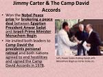 jimmy carter the camp david accords