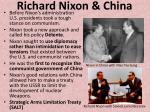 richard nixon china
