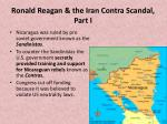 ronald reagan the iran contra scandal part i