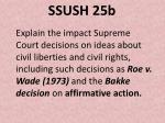 ssush 25b