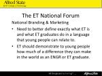 the et national forum18