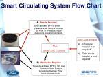 smart circulating system flow chart