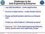 challenges to the dod engineering enterprise