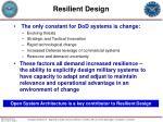 resilient design