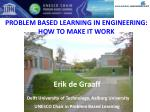 problem based learning in engineering how to make it work