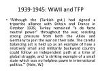 1939 1945 wwii and tfp