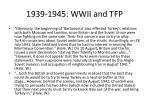 1939 1945 wwii and tfp13