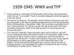 1939 1945 wwii and tfp19