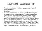 1939 1945 wwii and tfp2