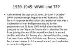 1939 1945 wwii and tfp4