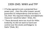 1939 1945 wwii and tfp7