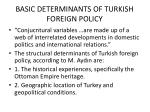basic determinants of turkish foreign policy2