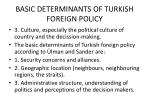 basic determinants of turkish foreign policy3