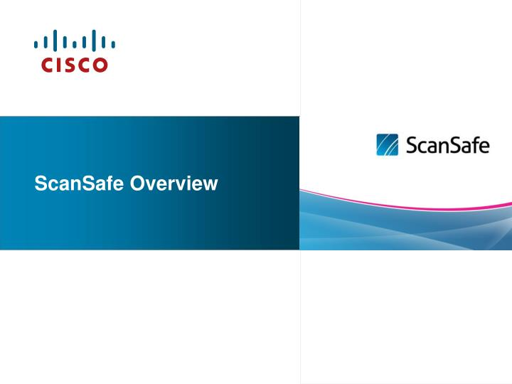 scansafe overview n.