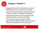 changes cambios 2
