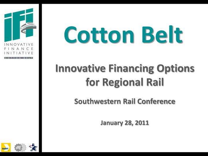 cotton belt n.