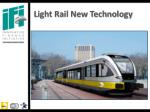 light rail new technology