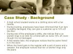 case study background