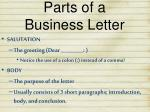 parts of a business letter1