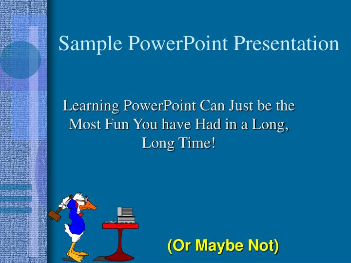 sample powerpoint presentation n.