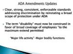 ada amendments updates