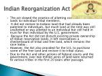 indian reorganization act