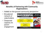 benefits of partnering with community organizations