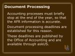 document processing