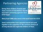 partnering agencies