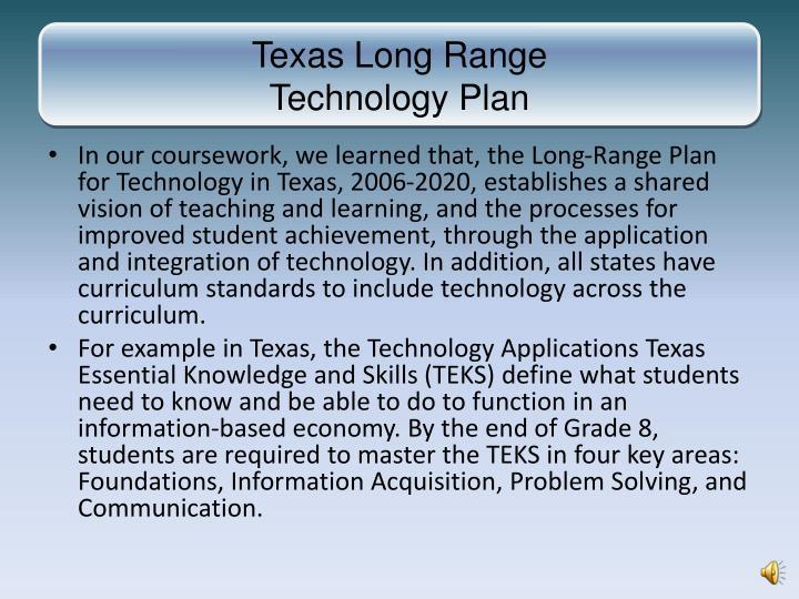 Texas Long Range