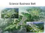 science business belt