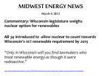 midwest energy news march 4 2012